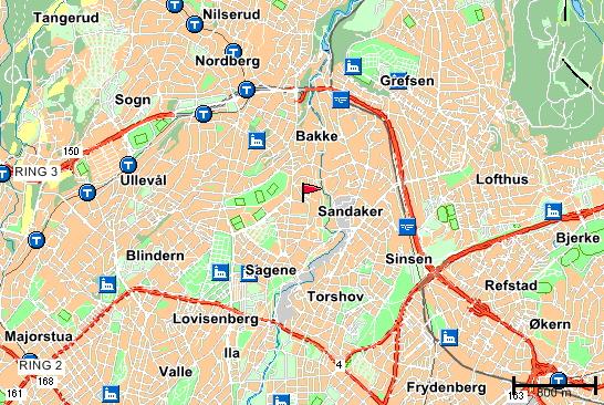 kart kjelsås Kjelsås BTK kart kjelsås